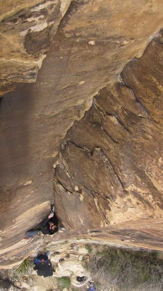 Rock Climbing Photo: BFK on Arrow Place P1