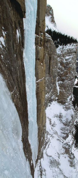 Rock Climbing Photo: Sea of Vapors from the belay on Replicant.