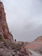 Rock Climbing Photo: Edge of the Freeway