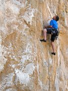 Rock Climbing Photo: Scott Briley on the start of Cruise It Or Lose It.
