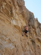 Rock Climbing Photo: The fight continues.