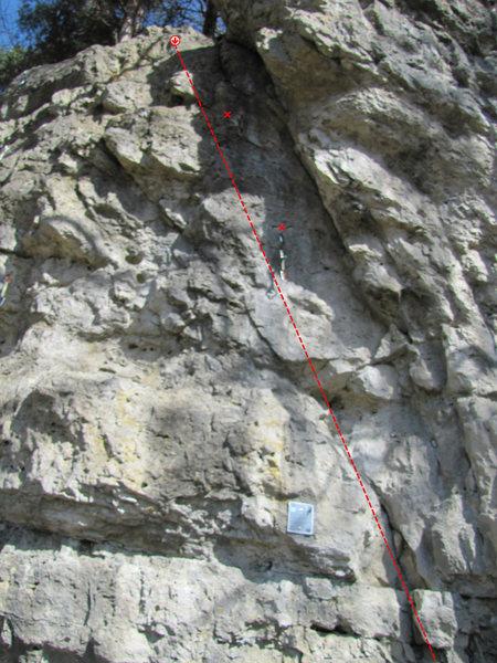 Rock Climbing Photo: Das erste Mal