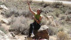 Rock Climbing Photo: Long time local ne'er-do-well Joe M. On belay, man...