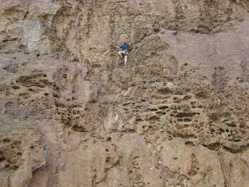 Rock Climbing Photo: Gruyer (swiss cheese)