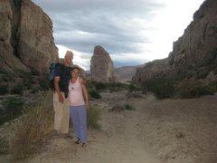 Piedra Parada, you can climb it too!!