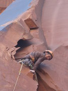 Rock Climbing Photo: geting comefey an ready for some work on lead. the...