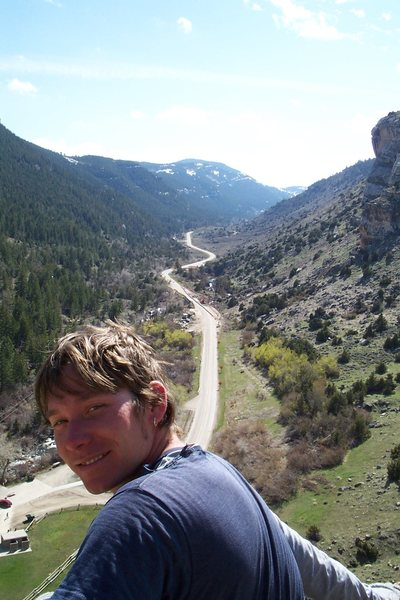 Happy at Sinks Canyon!