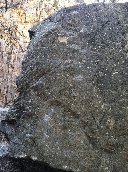 Rock Climbing Photo: Crimp Slab