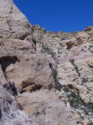 Rock Climbing Photo: We were across the way on Group Therapy.  This loo...
