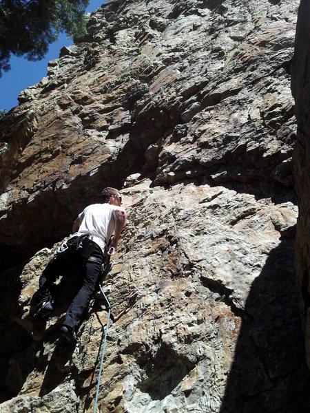 Rock Climbing Photo: Hollow Man BCC