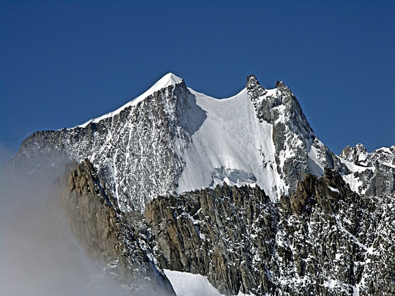 Rock Climbing Photo: One of the hardest summits in its class.