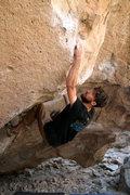 Rock Climbing Photo: Acid Wash - V10 Bishop, CA