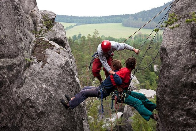 Rock Climbing Photo: Adrspach, Czech Republic