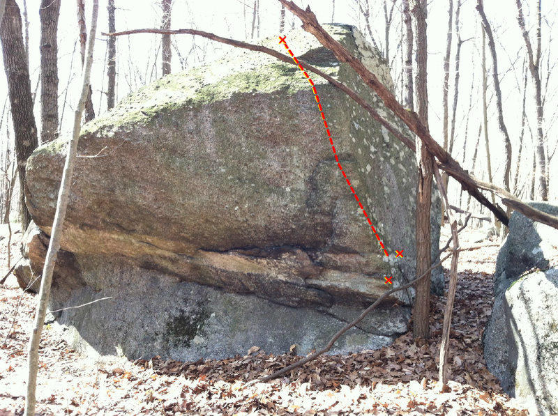Rock Climbing Photo: Ticks-A-Lot