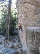 Rock Climbing Photo: Siera on TR