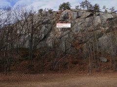 Rock Climbing Photo: October View