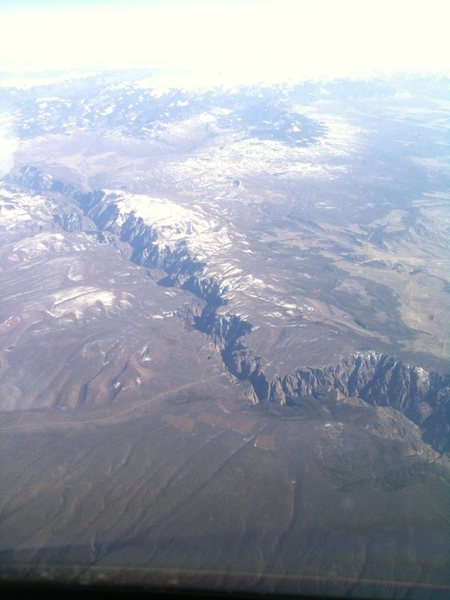 From the air. March 2012.