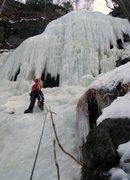 Rock Climbing Photo: Just below the sweet spot
