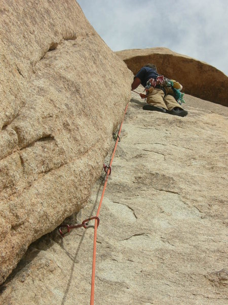 Rock Climbing Photo: my favorite climb in jtree