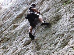 Rock Climbing Photo: Gettin' there on Vasconi.