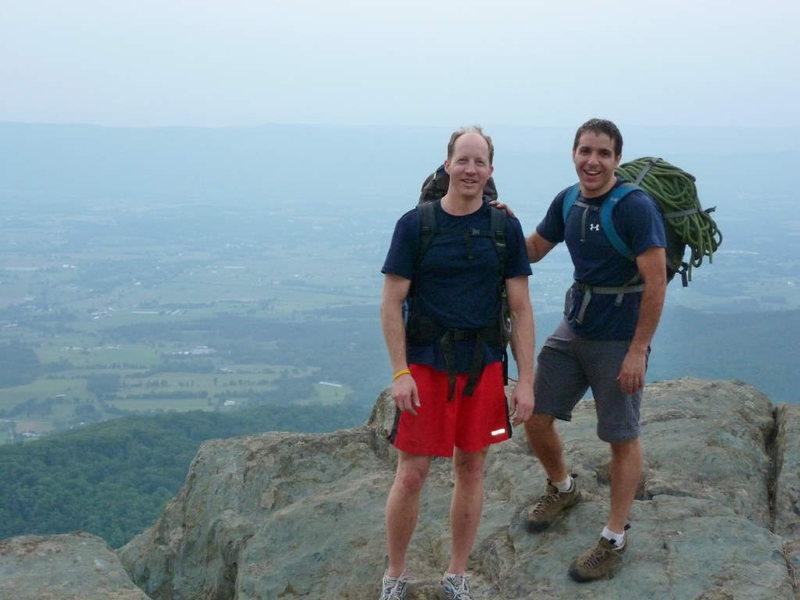 Rock Climbing Photo: Little Stony Man, VA