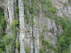 Rock Climbing Photo: Climb N Punishment, Seneca Rocks, WV