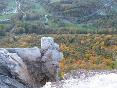 Rock Climbing Photo: Thais, Seneca Rocks, WV