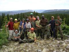 Rock Climbing Photo: the whole gang