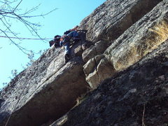 Rock Climbing Photo: Pandorum on Silver Lake