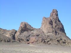 Rock Climbing Photo: Barber Peak, it's actually a sort of worthy climb!