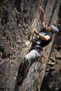 Rock Climbing Photo: Connor Wall on Crystal Ball.