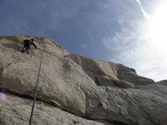 Rock Climbing Photo: Tucker Tech on Swagger...