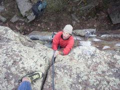 Rock Climbing Photo: Approaching the east ridge.