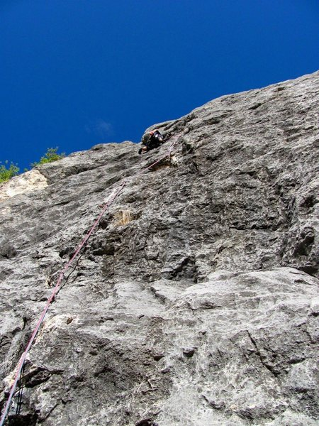 Rock Climbing Photo: where & what route?