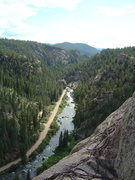 Rock Climbing Photo: Canyon View