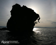 Rock Climbing Photo: Lake Champlain DWS Pic