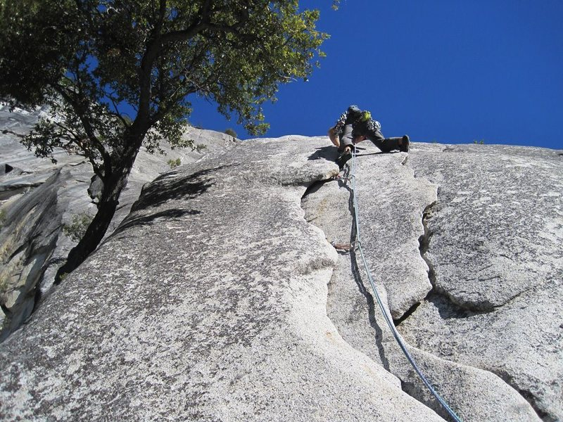 Start of P3. Serenity Crack. 1/2012.<br> <br> Photo: James Sullivan