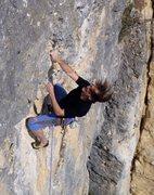 Rock Climbing Photo: Günther goes for Gummiadler 6b+
