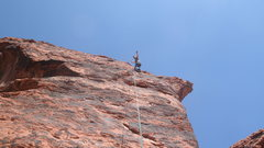 Rock Climbing Photo: look ma no hands