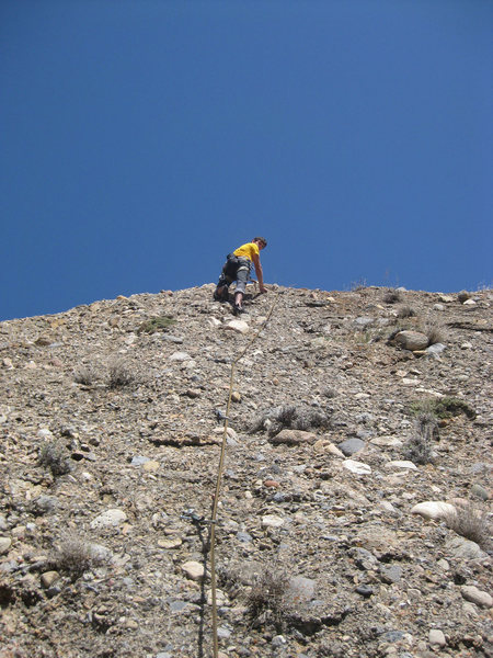 Rock Climbing Photo: Climbing Hannibal.