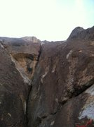 Rock Climbing Photo: Don't go straight up here for The Long Lead.  Face...