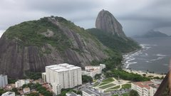 Rock Climbing Photo: A view of the Urca and Pao de Acucar as seen from ...