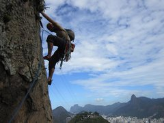 Rock Climbing Photo: Not a bad view.