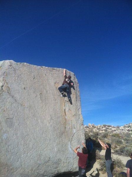 Rock Climbing Photo: Jedi Mind Tricks.Buttermilks