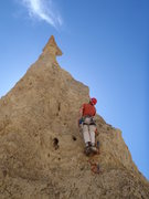 Rock Climbing Photo: Climbing the Sword. Big thanks to Paul Ross for pu...