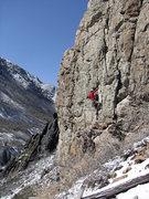 Rock Climbing Photo: A sunny April morning with Jon Scoville.