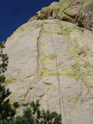 Rock Climbing Photo: P1. This route needs a name!