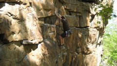 Rock Climbing Photo: Down low on First Normal Form.