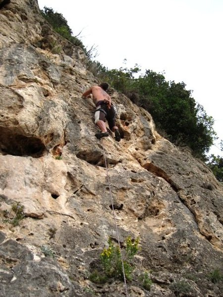 Rock Climbing Photo: Bambino at Cimitero