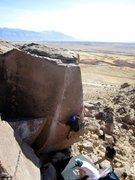 Rock Climbing Photo: grom
